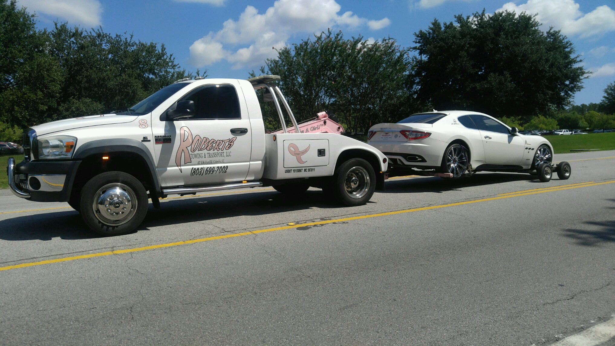 Automotive Locksmith Towing Roadside Assistance Columbia Sc Roberts Towing Transport